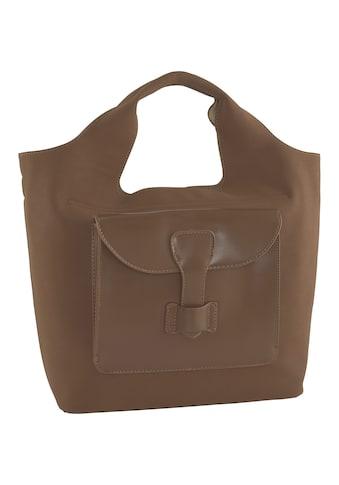 Tasche mit großer aufgesetzter Tasche vorne kaufen