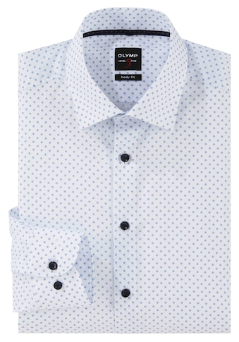 OLYMP Businesshemd »Level Five body fit«, Kontrastknöpfe kaufen