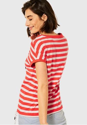 Cecil Print-Shirt, im maritimen Streifenmuster kaufen