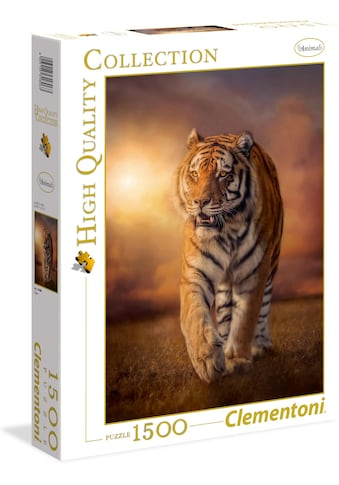Clementoni® Puzzle »High Quality Collection - Tiger«, Made in Europe kaufen