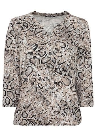 Olsen Rundhalsshirt, mit Schlangenprint kaufen