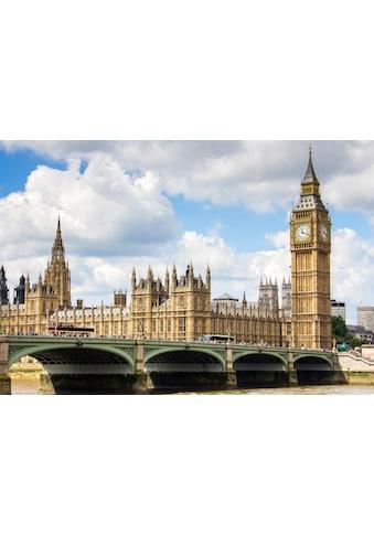 Papermoon Fototapete »Big Ben«, matt, BlueBack, 7 Bahnen, 350 x 260 cm kaufen