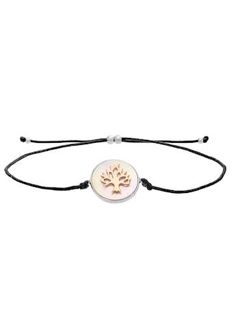 Julie Julsen Armband »POEMS OF LIFE, LEBENSBAUM SILBER-ROTVERGOLDET, PERLMUTT,... kaufen