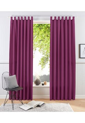 my home Vorhang »Raja«, blickdicht kaufen