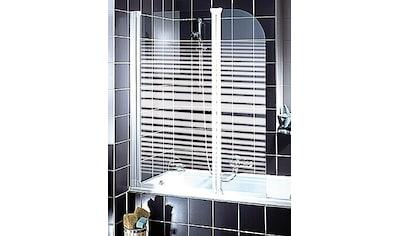 Schulte Badewannenaufsatz »Wega«, Breite: 116 cm, mit Sichtschutz kaufen