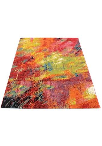 OCI DIE TEPPICHMARKE Teppich »Happiness Brush«, rechteckig, 20 mm Höhe, Wohnzimmer kaufen