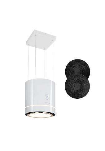Klarstein Inselabzugshaube Ø38cm Umluft 540m³/h LED »TronAmbience« kaufen