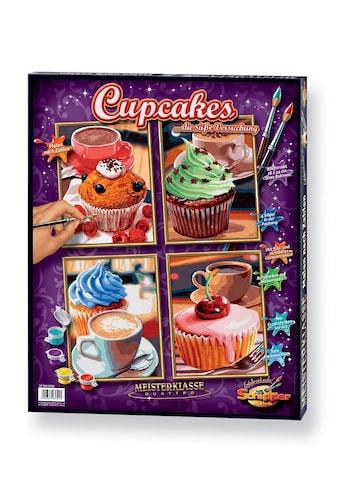 Schipper Malen nach Zahlen »Quattro - Cupcakes«, Made in Germany kaufen