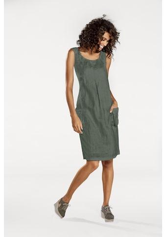 LINEA TESINI by Heine Sommerkleid, mit aufgesetzten Ballontaschen kaufen