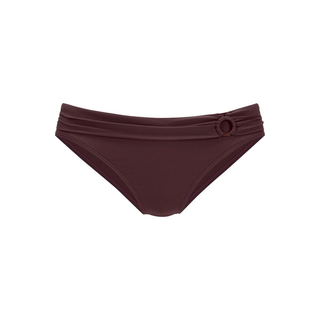 s.Oliver Bikini-Hose »Rome«, mit Umschlagbund