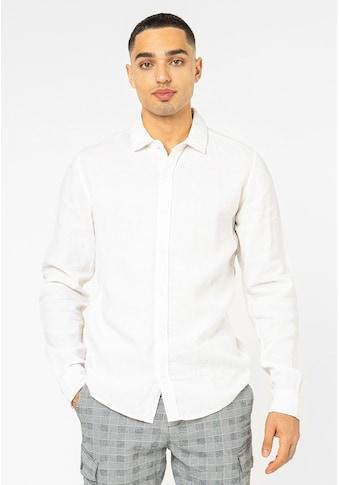 Eight2Nine Langarmhemd, aus Leinen kaufen