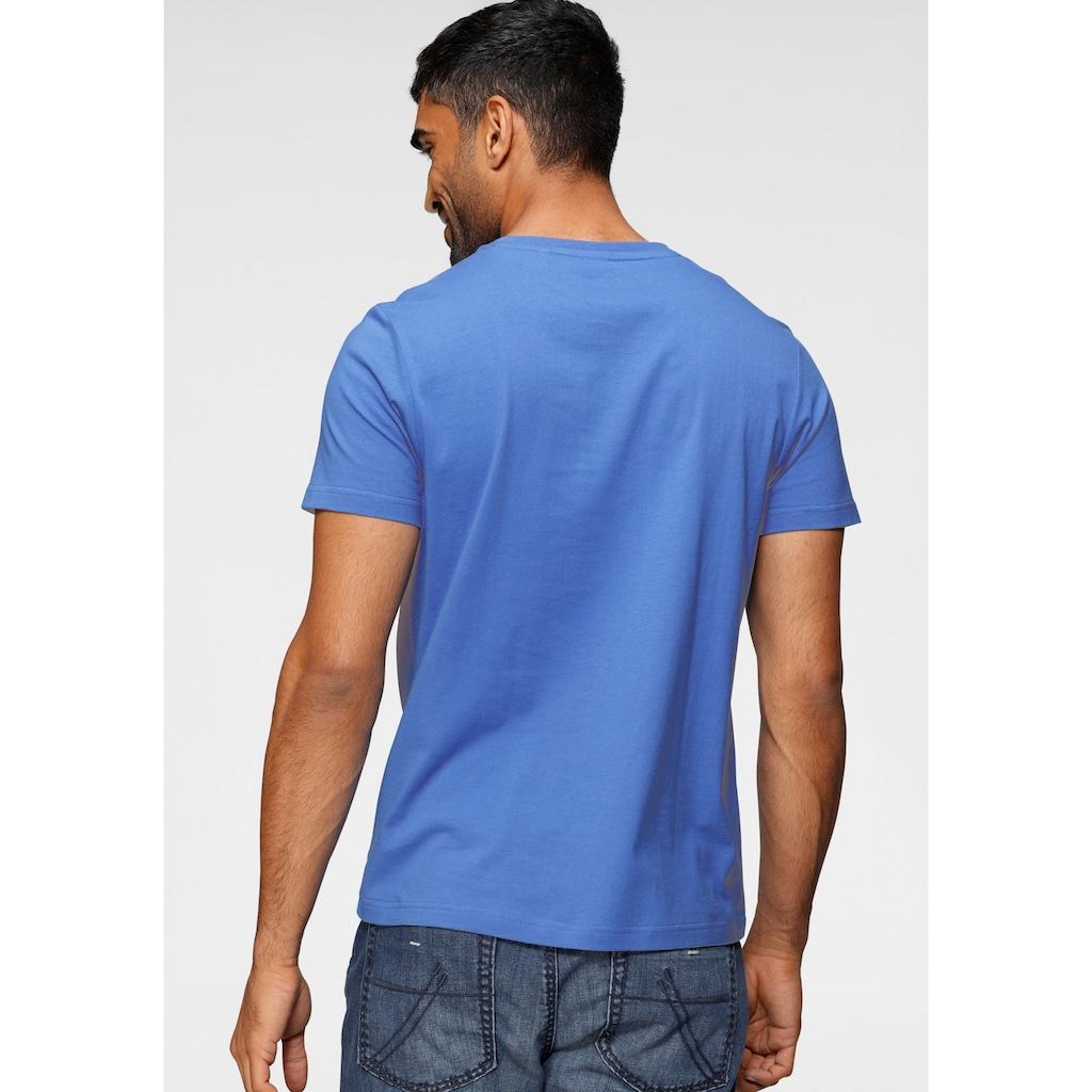 CAMP DAVID T-Shirt, mit großem Frontprint