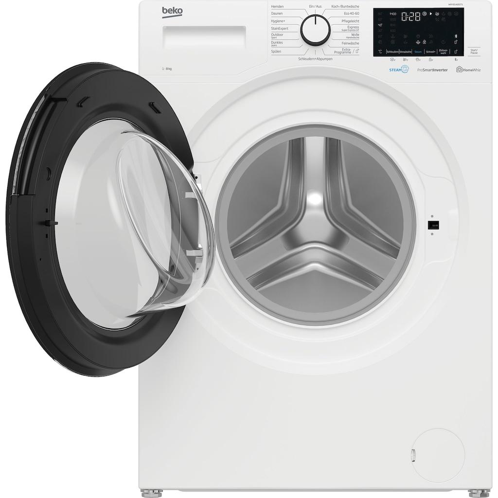 BEKO Waschmaschine »WMO81465STR1«, WMO81465STR1