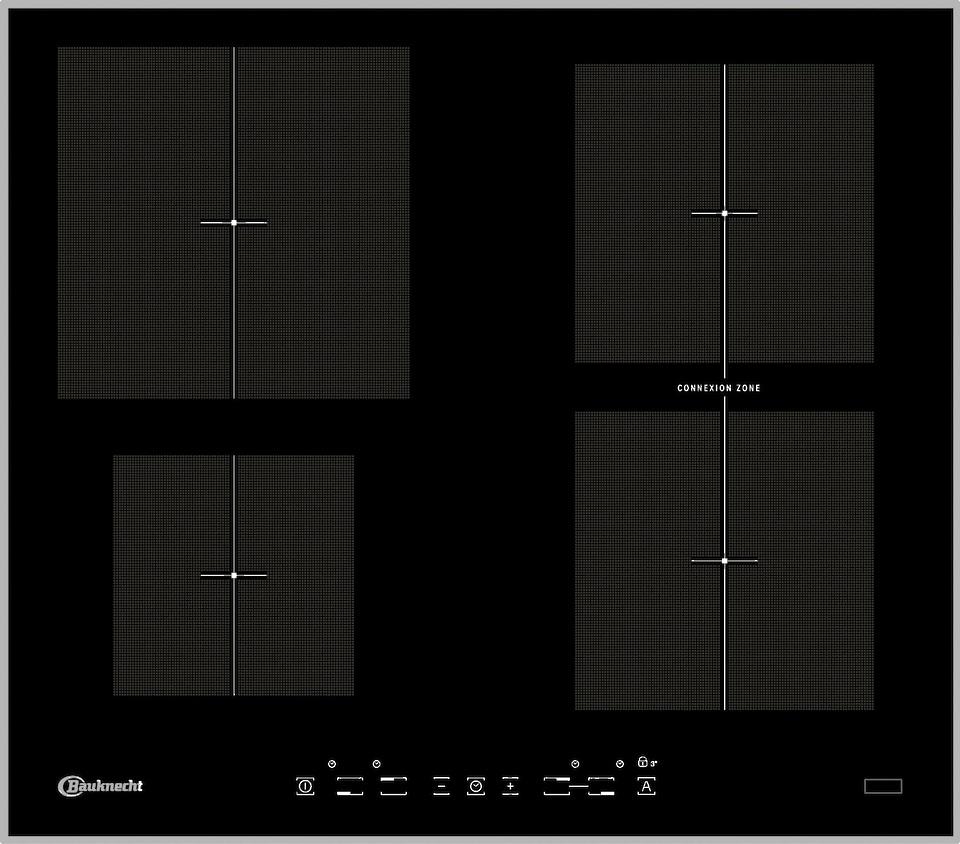 bauknecht induktions kochfeld von schott ceran jetzt. Black Bedroom Furniture Sets. Home Design Ideas