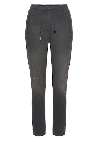 Zhrill Jogger Pants »FABIA DENIM«, Jeans Jogginghose mit Gummibündchen & Zipper kaufen