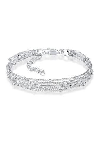 Elli Armband »Basic Kugelkette Layer Look Trend 925er Silber« kaufen