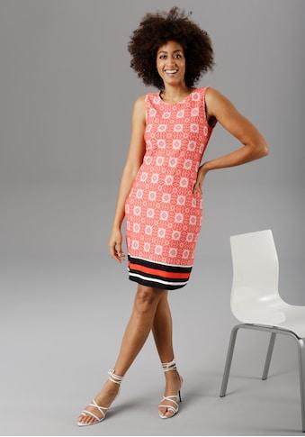 Aniston SELECTED Sommerkleid, im sommerlichen Ornamente-Druck - NEUE KOLLEKTION kaufen