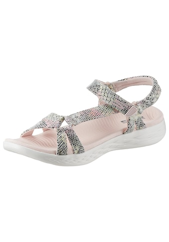 Skechers Sandale »On the Go 600 - Boa«, in Snake-Optik kaufen