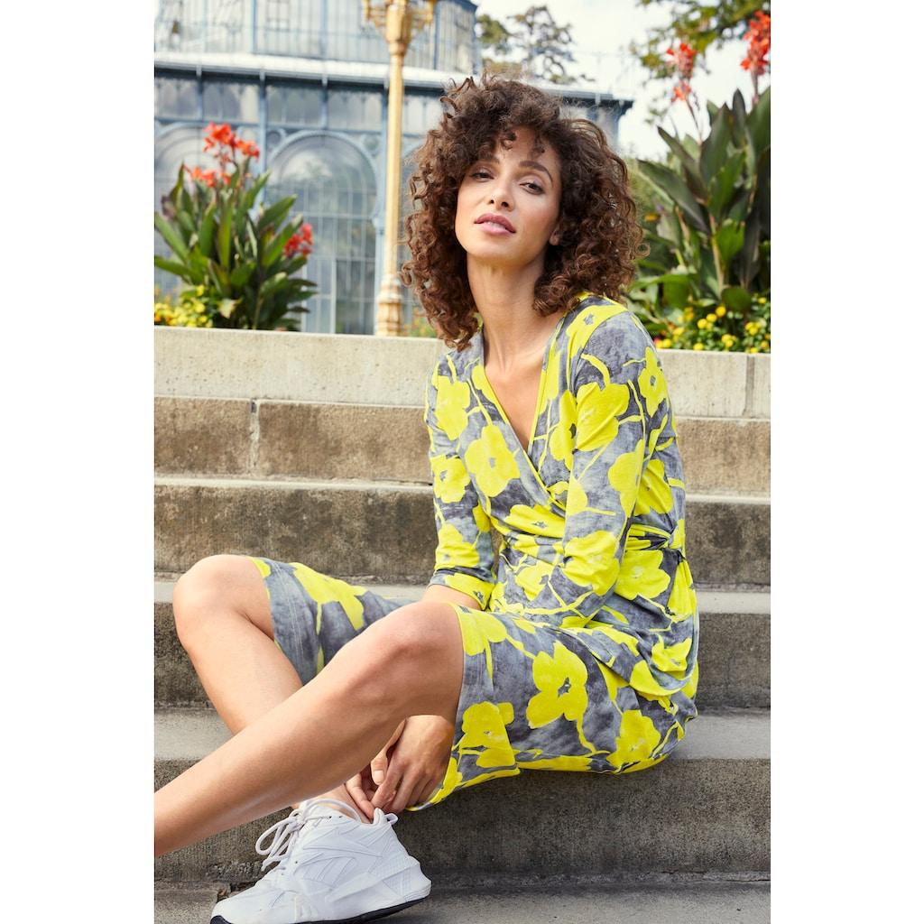 Aniston SELECTED Jerseykleid, in femininer Wickel-Optik - NEUE KOLLEKTION