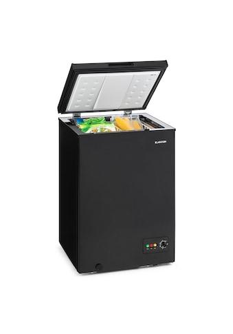 Klarstein Gefriertruhe Gefrierschrank 100 L 75 W »Iceblokk - 100 - B« kaufen