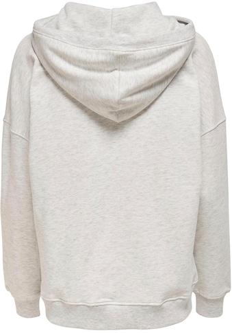 Only Sweatshirt »ONLBLUME«, mit Kapuze kaufen