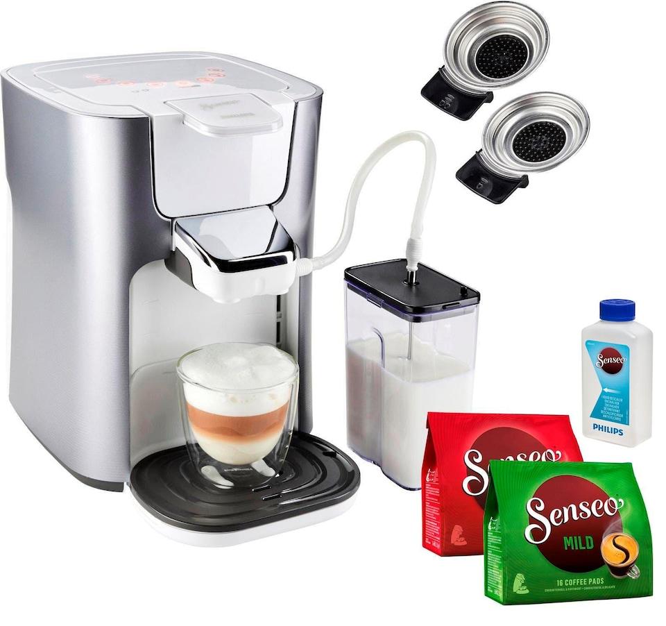 Bildquelle Senseo Kaffeepadmaschine HD6574 20 Latte Duo