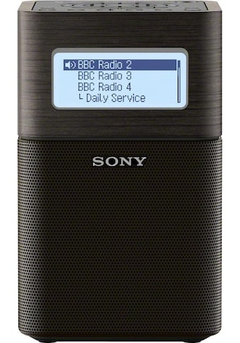 Sony Radio »XDR-V1BTD«, (Bluetooth-NFC Digitalradio (DAB+)-FM-Tuner mit RDS ) kaufen