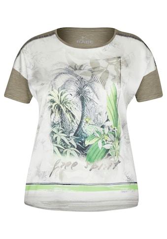 Rabe T-Shirt, mit floralem Muster und Rundhalsausschnitt kaufen