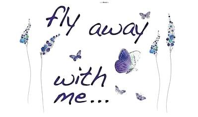 Komar Wandtattoo »Butterflies«, selbstklebend, rückstandslos abziehbar kaufen