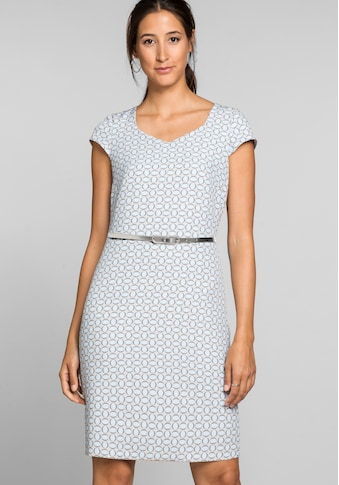 bianca Etuikleid »DIDY«, im femininen Minimal-Print mit Gürtel kaufen