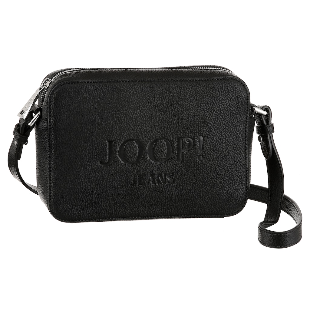 Joop Jeans Umhängetasche »lettera cloe shoulderbag shz«, mit schöner Logo Prägung