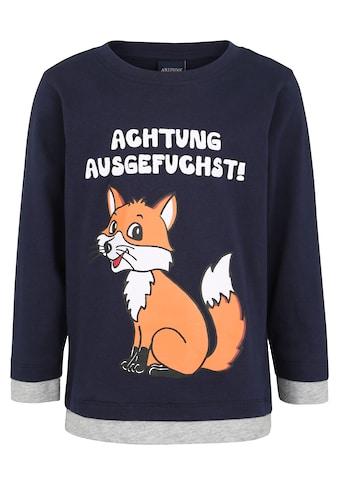 KIDSWORLD Langarmshirt »Fuchs« kaufen
