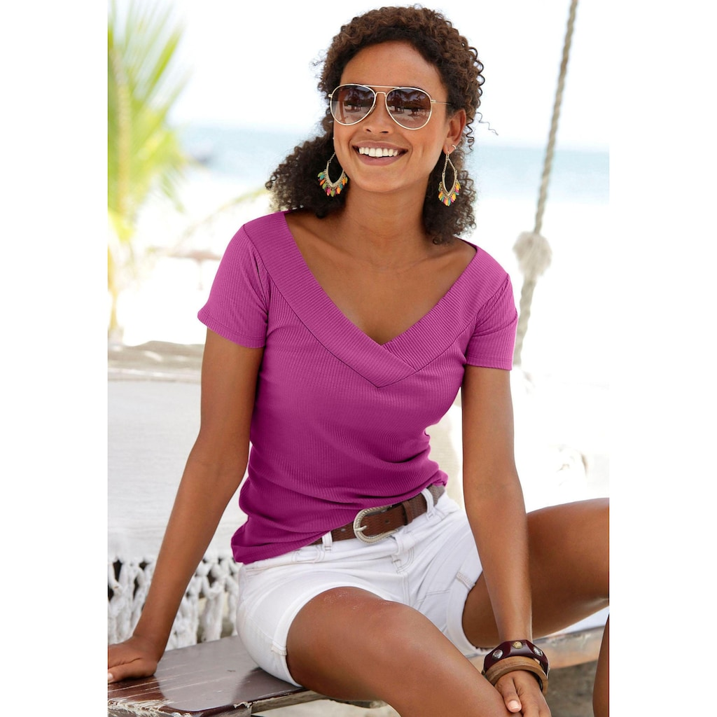 s.Oliver Beachwear Kurzarmshirt