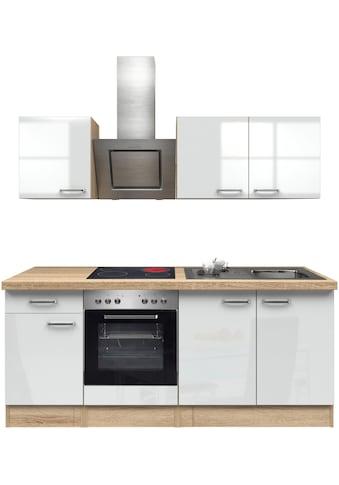 Flex-Well Küchenzeile »Florenz«, mit E-Geräten, Breite 310 cm kaufen