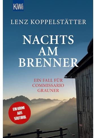 Buch »Nachts am Brenner / Lenz Koppelstätter« kaufen