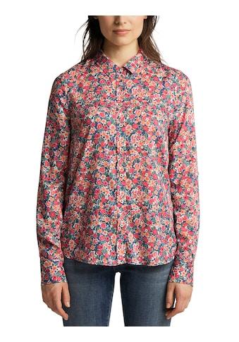 MUSTANG Langarmbluse »Emma floral turnup« kaufen