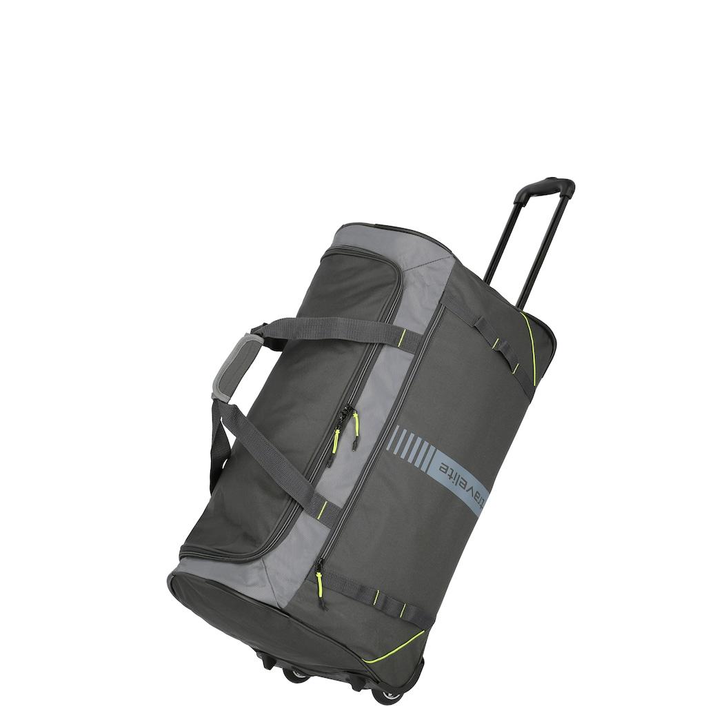 travelite Reisetasche »Basics, 71 cm, mit Trolleyfunktion«, mit Trolleyfunktion