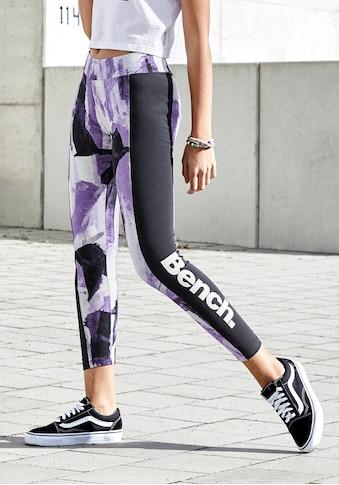 Bench. Leggings, mit kontrastfarbenem Einsatz kaufen