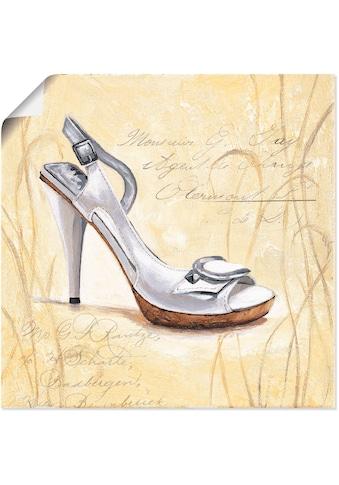 Artland Wandbild »Stiletto IV - Schuh«, Mode, (1 St.), in vielen Größen & Produktarten... kaufen