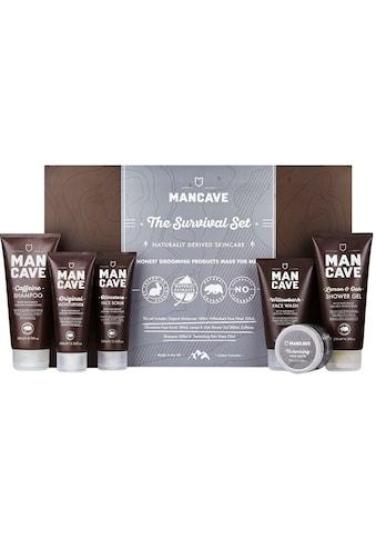 """MAN CAVE Körperpflege - Set """"The Survival Set"""", 6 - tlg. kaufen"""