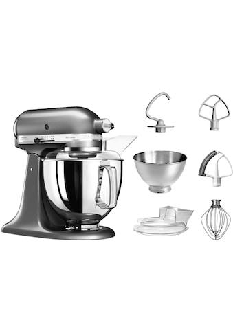 KitchenAid Küchenmaschine »Artisan 5KSM175PSEMS«, 300 W, 4,8 l Schüssel, mit Zubehör... kaufen