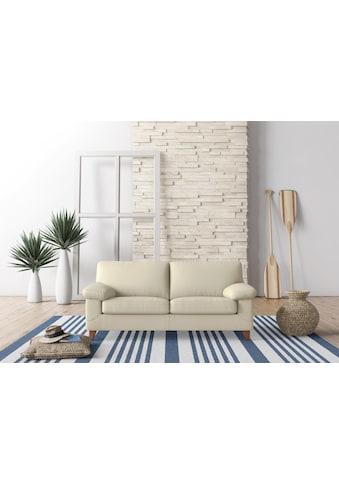 machalke® 2,5-Sitzer »diego«, mit weichen Armlehnen, Füße wengefarben, Breite 195 cm,... kaufen