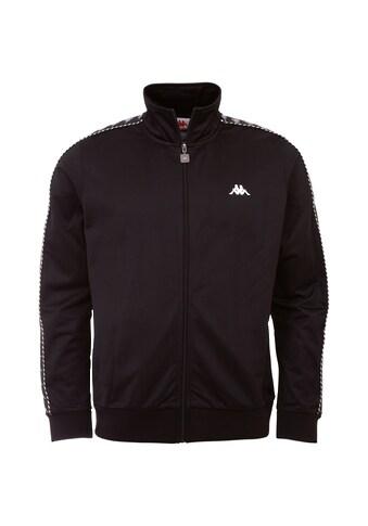 Kappa Trainingsjacke »IMANUEL«, mit hochwertigem Jacquard Logowebband an den Ärmeln kaufen
