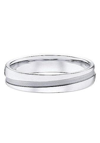 Firetti Trauring mit Gravur »glanz, sandmatt, Diamantschnitt, 5,0 mm breit«, wahlweise mit oder ohne Zirkonia kaufen