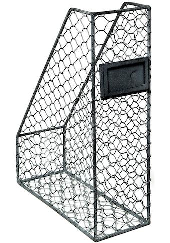 Ambiente Haus Organizer »Ordnerständer - grau 33cm«, (1 St.) kaufen