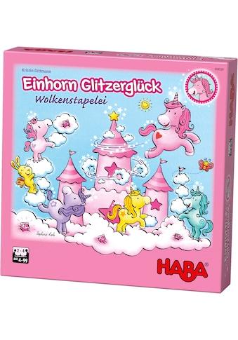 Haba Spiel »Einhorn Glitzerglück - Wolkenstapelei«, Made in Germany kaufen