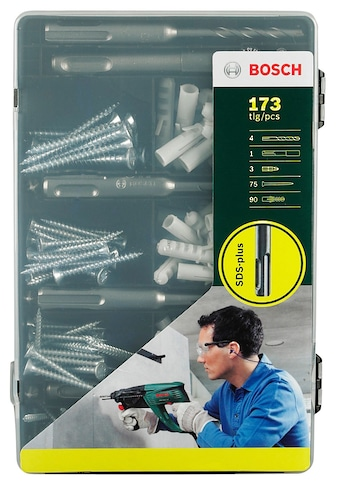 BOSCH Bohrersatz »Fixier-Set SDS-plus«, (173 tlg.) kaufen