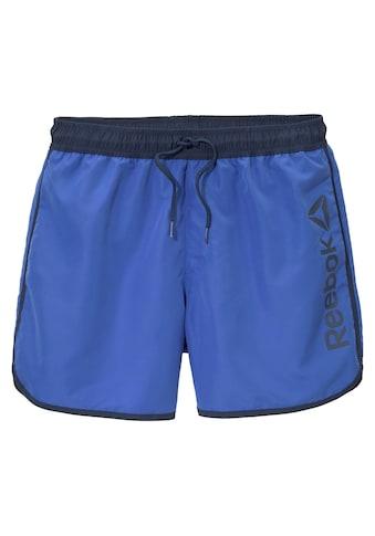 Reebok Badeshorts, mit seitlichem Logoschriftzug kaufen