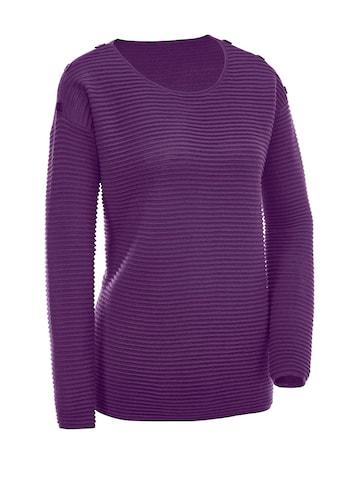 Classic Basics Pullover in modischer Rippen - Optik kaufen
