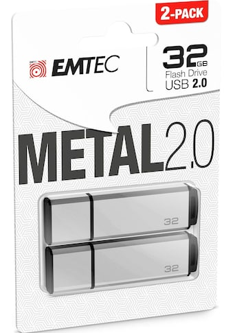EMTEC USB-Stick »C900«, (USB 2.0 Lesegeschwindigkeit 15 MB/s), 2er Pack (2x 32 GB) kaufen
